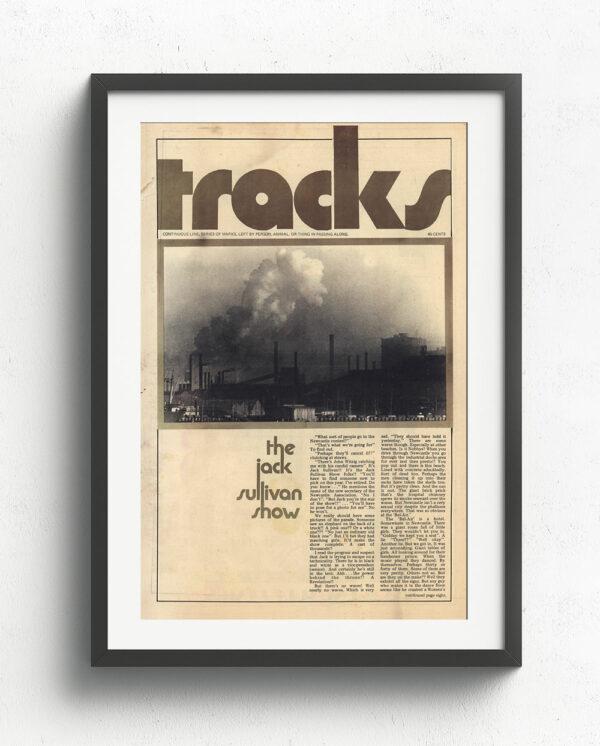 Tracks Cover Art - October-1970-Black Frame