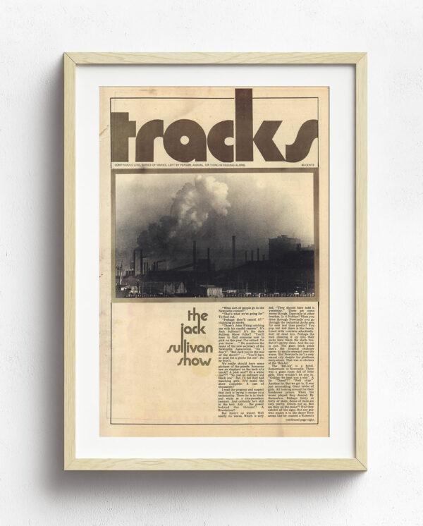 Tracks Cover Art - October-1970-Natural Frame