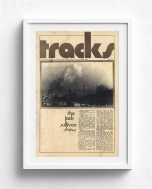Tracks Cover Art - October-1970-White Frame
